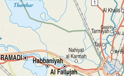 Camp Taji [East of Nahiyat al Karmah]