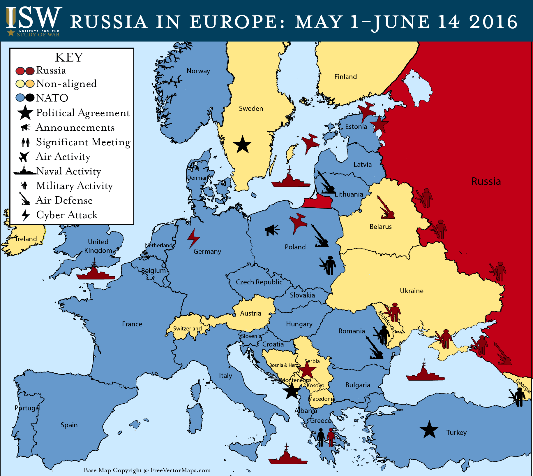Russia in Europe May 1 June 14