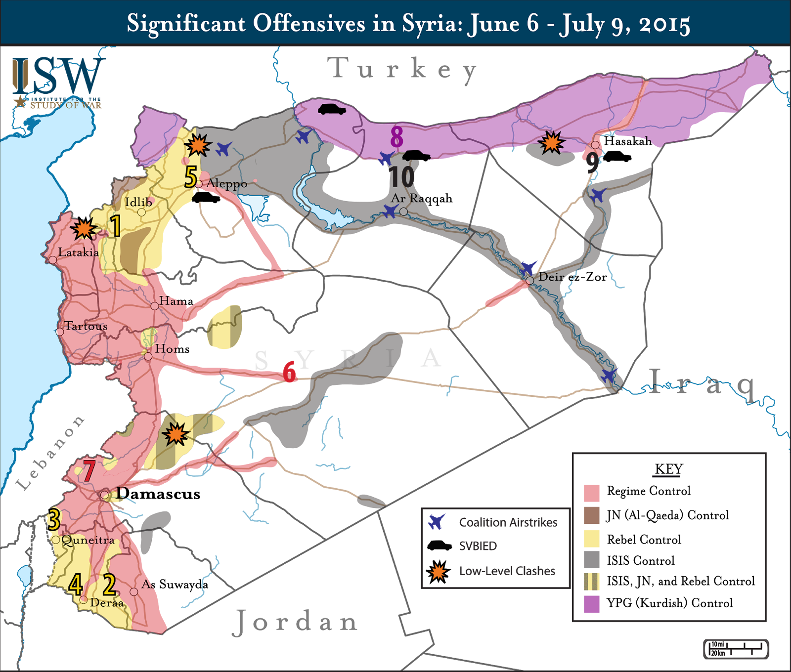 Map of rebel controlled syria current situation in syria control map of rebel controlled syria on current situation in syria control areas of syria gumiabroncs Image collections