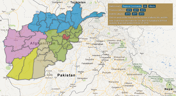 Afghanistan Green-On-Blue Attacks in Context