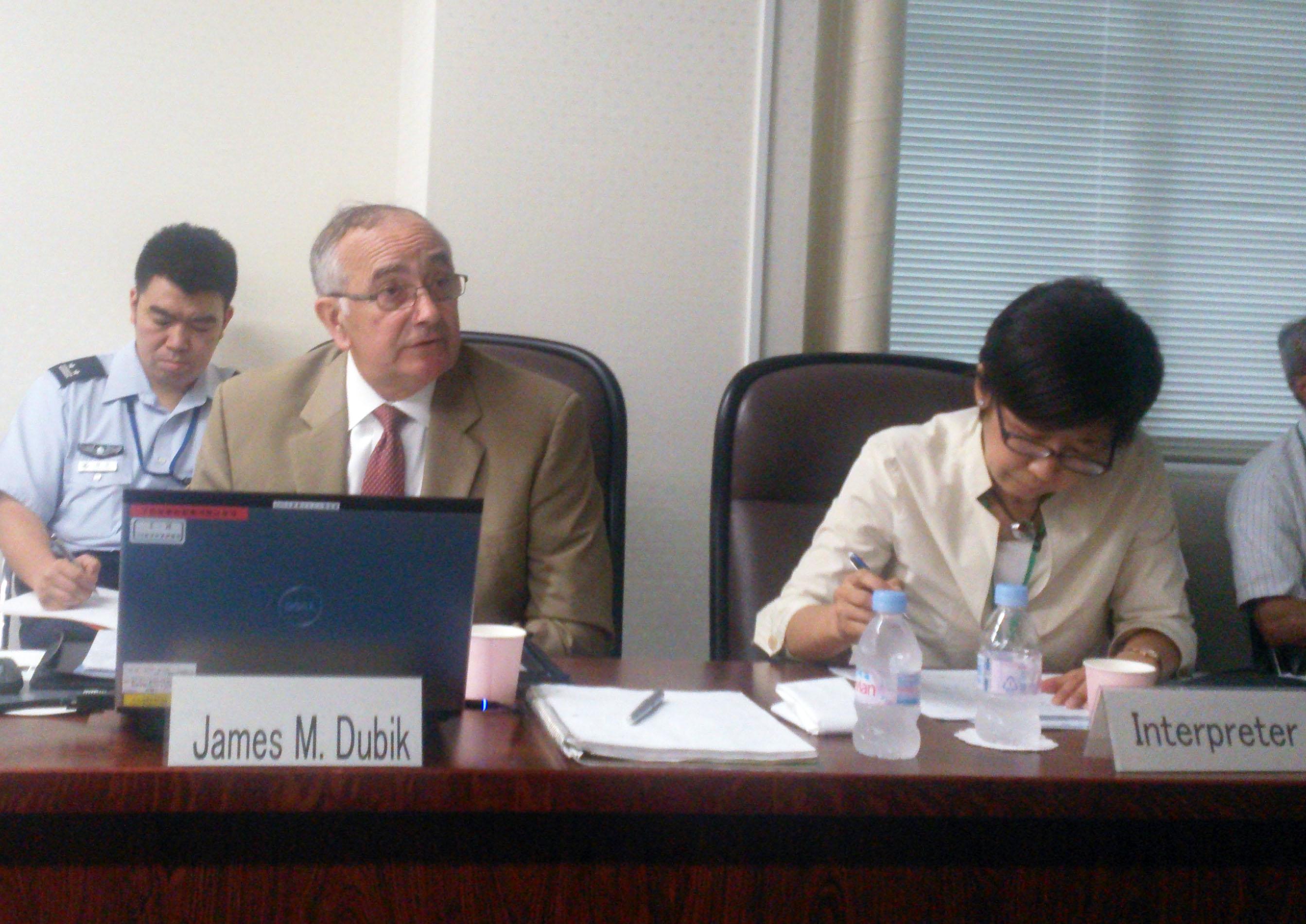 General Dubik Presenting