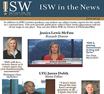 ISW in the News